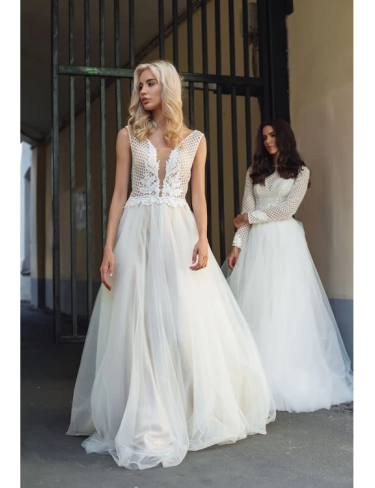 Rochie de mireasa Lezardi- Franka