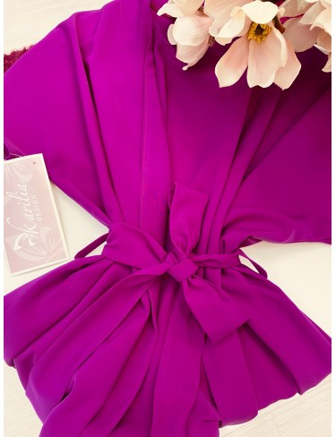 Halat violet scurt
